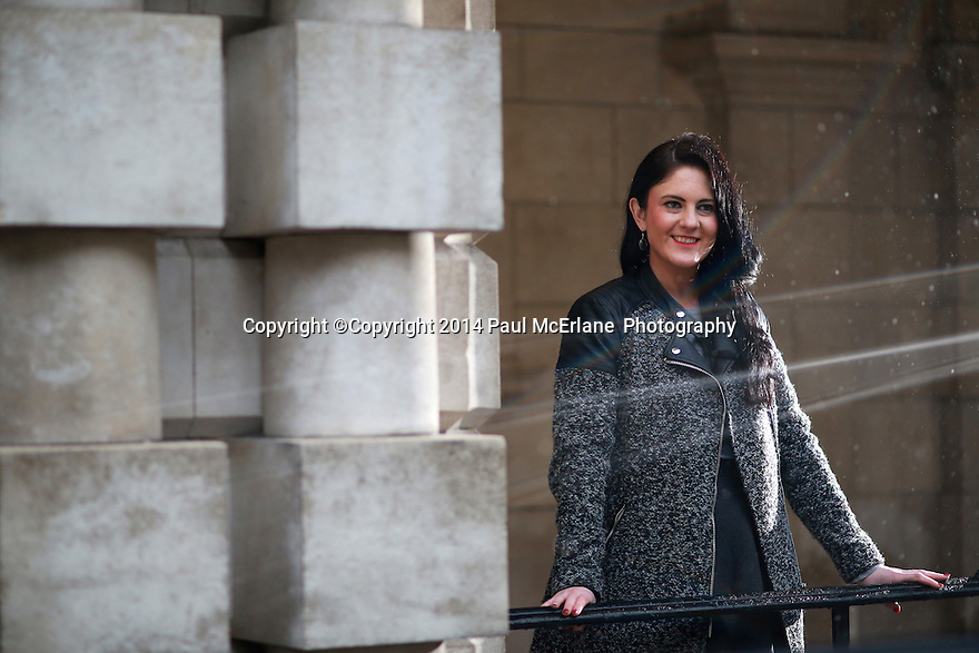 Belfast city councillor Julia-Ann Corr Johnston of the Progressive Unionist Party. Photo/Paul McErlane