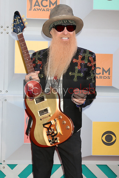 Billy GIbbons<br /> at the 2016 Academy of Country Music Awards Arrivals, MGM Grand Garden Arena, Las Vegas, NV 04-03-16<br /> David Edwards/DailyCeleb.com 818-249-4998