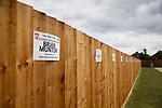 Fans are invited to sponsor fence panels. Kettering Town 1 Leiston 2, Evo Stick Southern League Premier Central, Latimer Park. Kettering Town are a famous name in non-league football. After financial problems, relegations, and relocation, the club are once again upwardly mobile. Despite losing to Leiston, Kettering finished the season as Champions and were promoted to the National League North.