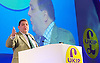 UKIP National Party Conference <br /> Day 2<br /> at Doncaster Race Course, Doncaster, Great Britain <br /> 27th September 2014 <br /> <br /> David Coborn - MEP Scotland <br /> <br /> Photograph by Elliott Franks <br /> Image licensed to Elliott Franks Photography Services