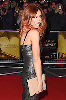 Stacey Solomon<br /> at the &quot;Game of Thrones Hardhome&quot; gala screening, Empire, Leicester Square London<br /> <br /> <br /> &copy;Ash Knotek  D3098 12/03/2016