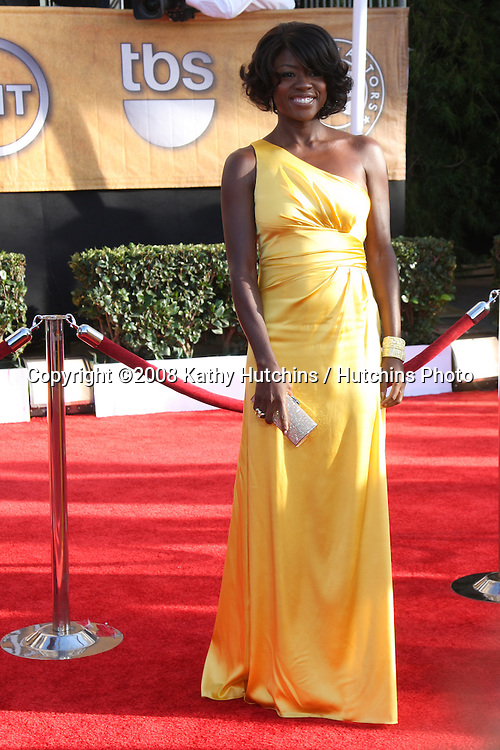 Viola Davis . arriving at the Screen Actors Guild Awards, at the Shrine Auditorium in Los Angeles, CA on .January 25, 2009.©2008 Kathy Hutchins / Hutchins Photo..