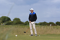 Jack Pierse (Portmarnock) on the 2nd tee during Round 3 of the East of Ireland Amateur Open Championship at Co. Louth Golf Club in Baltray on Sunday 4th June 2017.<br /> Photo: Golffile / Thos Caffrey.<br /> <br /> All photo usage must carry mandatory copyright credit     (&copy; Golffile | Thos Caffrey)