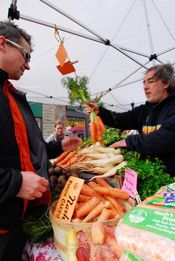 Ballard Farmer's Market, Seattle Wa.