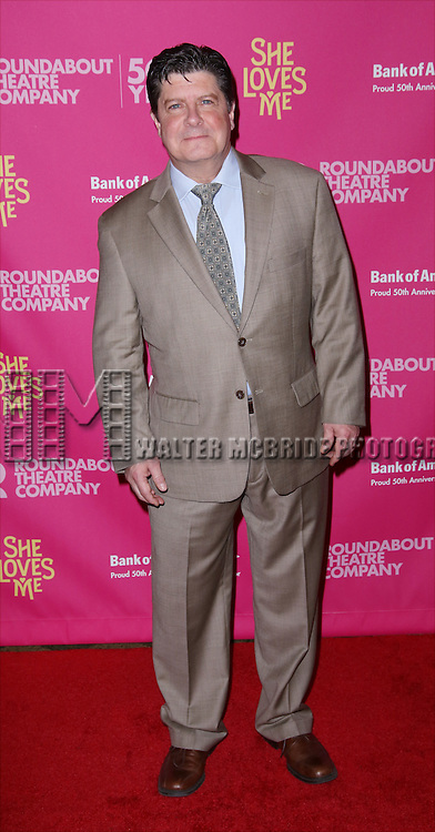 Michael McGrath attends the Broadway Opening Night Performance press reception for 'She Loves Me' at Studio 54 on March 17, 2016 in New York City.
