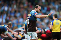 Jamie Roberts of Harlequins. Aviva Premiership match, between Harlequins and Saracens on September 24, 2016 at the Twickenham Stoop in London, England. Photo by: Patrick Khachfe / JMP