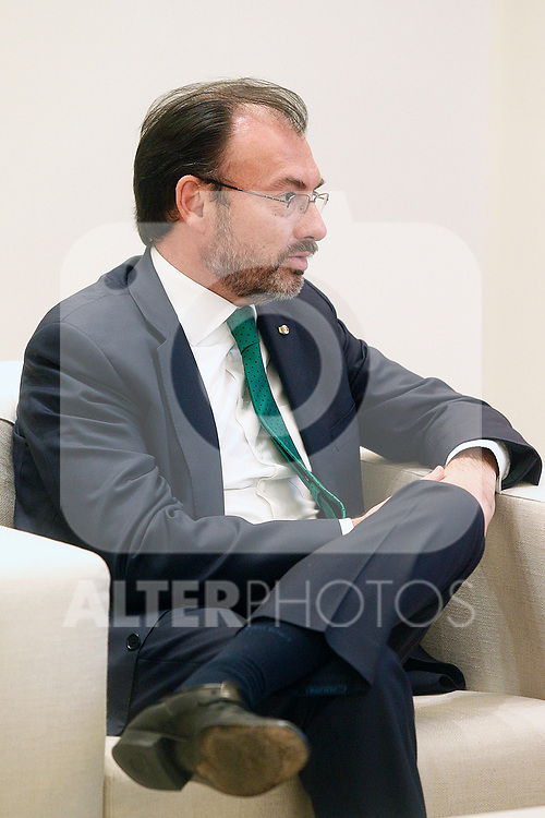 Secretary of Foreign Relations of Mexico, Luis Videgaray. April 19,2017. (ALTERPHOTOS/Acero)