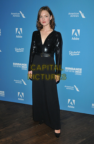 "Holliday Grainger at the ""Animals"" Sundance London film festival European premiere, Picturehouse Central, Corner of Shaftesbury Avenue and Great Windmill Street, London, England, UK, on Friday 31st May 2019.<br /> CAP/CAN<br /> ©CAN/Capital Pictures"