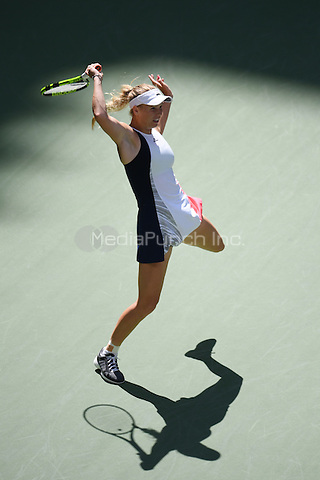 FLUSHING NY- SEPTEMBER 04: Caroline Wozniacki Vs Madison on Arthur Ashe Stadium at the USTA Billie Jean King National Tennis Center on September 4, 2016 in Flushing Queens. Credit: mpi04/MediaPunch