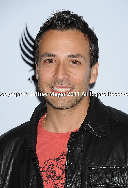 HOLLYWOOD, CA - FEBRUARY 10: Howie Dorough arrives at the 7th annual Peapod benefit concert at the Music Box Theatre on February 10, 2011 in Hollywood, California.
