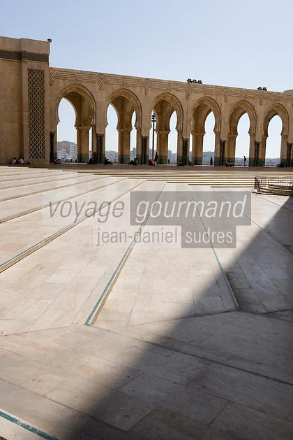 Afrique/Afrique du Nord/Maroc /Casablanca: la Grande Mosquée Hassan II