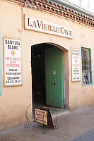 La Vieille Cave - the old wine cellar. Collioure. Domaine Pietri-Geraud Roussillon. France. Europe.