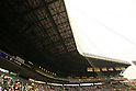 Hanshin Koshien Stadium,<br /> AUGUST 25, 2014 - Baseball :<br /> A general view of the &quot;Ginsan&quot; roof over the infield stands before the 96th National High School Baseball Championship Tournament final game between Mie 3-4 Osaka Toin at Koshien Stadium in Hyogo, Japan. (Photo by Katsuro Okazawa/AFLO)