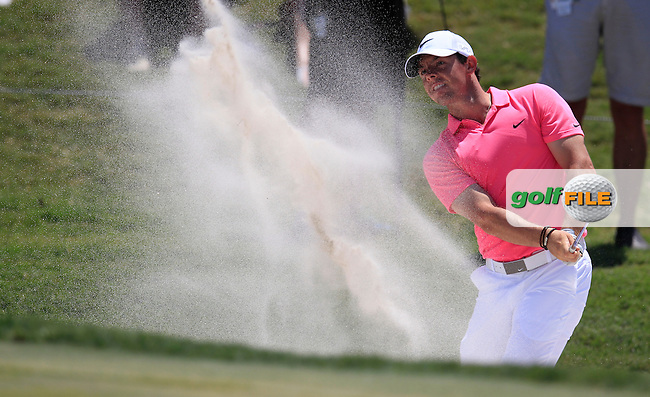 Rory MCILROY (NIR) on the 9th during the final round of The Players, TPC Sawgrass, Ponte Vedra Beach, Florida, United States. 10/05/2015<br /> Picture Fran Caffrey, www.golffile.ie