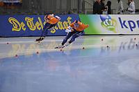 SPEEDSKATING: SALT LAKE CITY: 09-12-2017, Utah Olympic Oval, ISU World Cup, 1500m Men A-Division, Thomas Krol (NED), Koen Verweij (NED), ©photo Martin de Jong