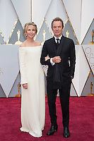 www.acepixs.com<br /> <br /> February 26 2017, Hollywood CA<br /> <br /> Musician Sting (R) and producer Trudie Styler arriving at the 89th Annual Academy Awards at Hollywood &amp; Highland Center on February 26, 2017 in Hollywood, California.<br /> <br /> By Line: Z17/ACE Pictures<br /> <br /> <br /> ACE Pictures Inc<br /> Tel: 6467670430<br /> Email: info@acepixs.com<br /> www.acepixs.com