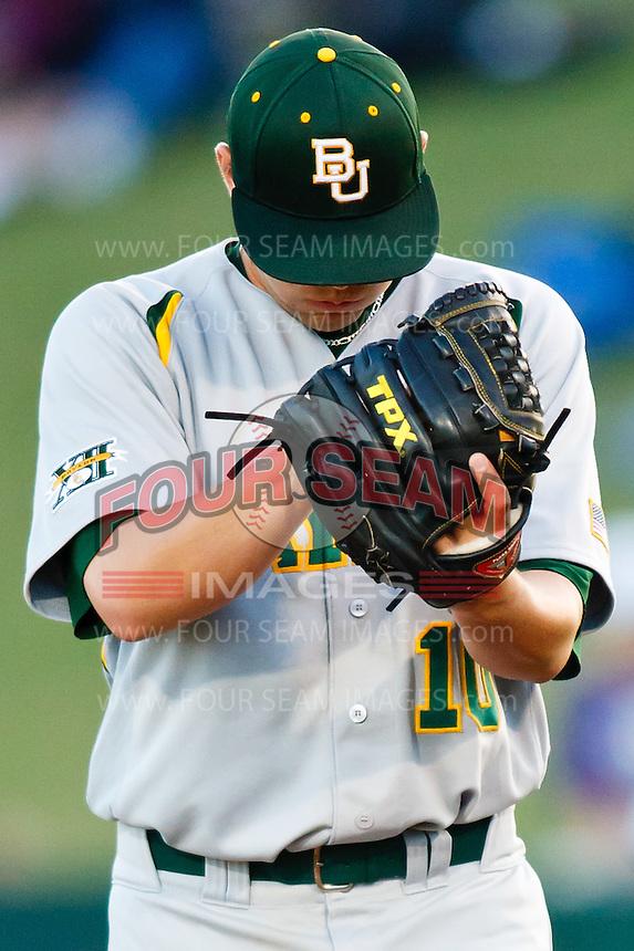 Jon Ringenberg (10) April 27th, 2010; NCAA Baseball action, Baylor University Bears vs TCU Horned Frogs at Lupton Stadium in Fort Worth, Tx;  TCU won 5-4 in extra innings.