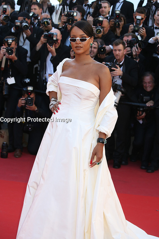 RIHANNA - RED CARPET OF THE FILM 'OKJA' AT THE 70TH FESTIVAL OF CANNES 2017