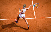 Paris, France, 27 May, 2019, Tennis, French Open, Roland Garros, Pauline Parmentier (FRA)<br /> Photo: Henk Koster/tennisimages.com