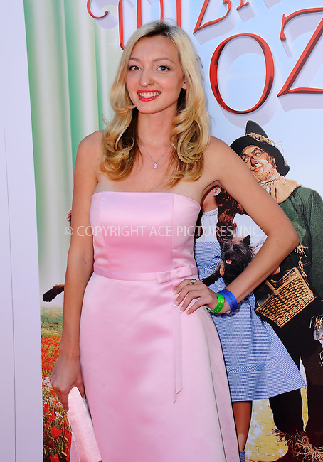 WWW.ACEPIXS.COM<br /> <br /> September 15 2013, LA<br /> <br /> Joell Posey at 'The Wizard Of Oz 3D' world premiere at TCL Chinese Theatre on September 15, 2013 in Hollywood, California.<br /> <br /> <br /> By Line: Peter West/ACE Pictures<br /> <br /> <br /> ACE Pictures, Inc.<br /> tel: 646 769 0430<br /> Email: info@acepixs.com<br /> www.acepixs.com