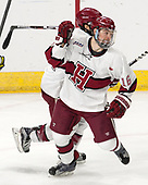 Ryan Donato (Harvard - 16) - The Harvard University Crimson defeated the Air Force Academy Falcons 3-2 in the NCAA East Regional final on Saturday, March 25, 2017, at the Dunkin' Donuts Center in Providence, Rhode Island.