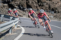 Team Trek-Segafredo winter training camp with Alberto Contador <br /> <br /> january 2017, Tenerife/Spain