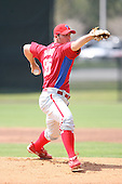 March 18th 2008:  Joe Savery of the Philadelphia Phillies minor league system during Spring Training at the Carpenter Complex in Clearwater, FL.  Photo by:  Mike Janes/Four Seam Images