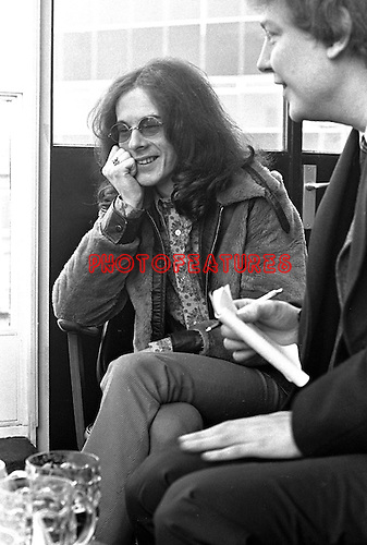 Noel Redding 1969 at BBC Bar for Lulu TV Show