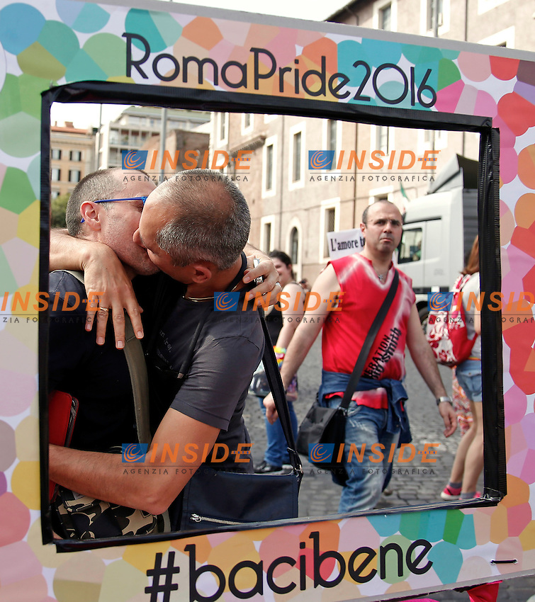 Roma 11-06-2016 Gay Pride 2016.<br /> Photo Samantha Zucchi Insidefoto