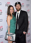 Michelle Sinclair and boyfriend at The Gala screening of INHERENT VICE at AFI FEST 2014 presented by Audie held at at The Egyptian Theatrein Hollywood, California on November 08,2014                                                                               © 2014 Hollywood Press Agency