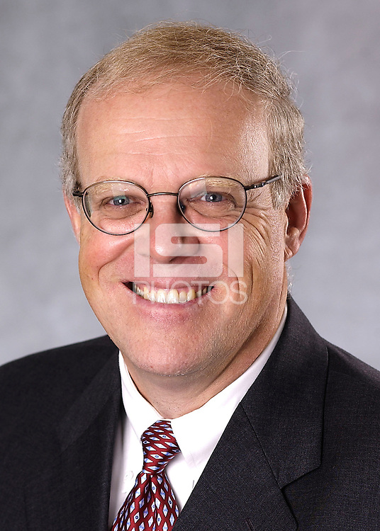 STANFORD, CA - OCTOBER 25: A portrait of John Hennessy on October 25, 2002.