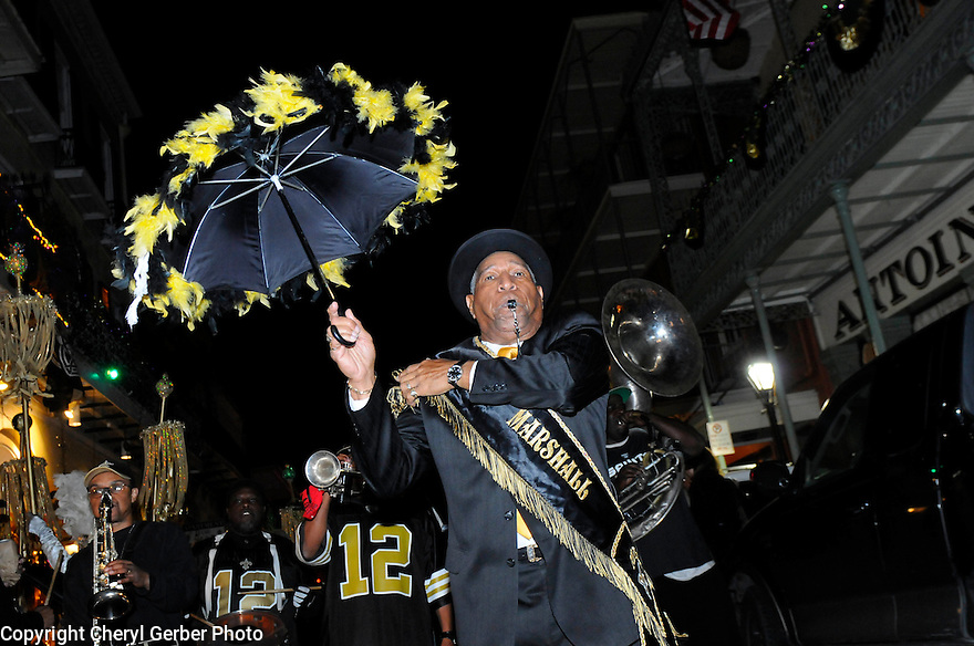 New Orleans Saints fans flock to Bourbon Street after the win of the NFC Championship game against the Minnesota Vikings,  New Orleans, Sunday, Jan. 24, 2010..(AP Photo/Cheryl Gerber)