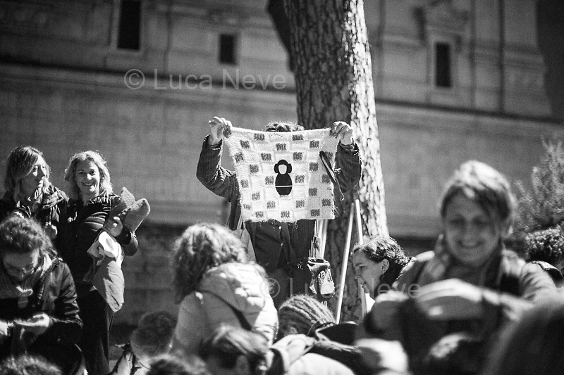 Unknown, Tailor and Activist.<br /> <br /> Rome, 01/05/2019. This year I will not go to a MayDay Parade, I will not photograph Red flags, trade unionists, activists, thousands of members of the public marching, celebrating, chanting, fighting, marking the International Worker's Day. This year, I decided to show some of the Workers I had the chance to meet and document while at Work. This Story is dedicated to all the people who work, to all the People who are struggling to find a job, to the underpaid, to the exploited, and to the people who work in slave conditions, another way is really possible, and it is not the usual meaningless slogan: MAKE MAYDAY EVERYDAY!<br /> <br /> Happy International Workers Day, long live MayDay!
