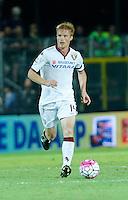 Dries Mertens  durante l'incontro di calcio di Serie A   Frosinone - Torino  allo  Stadio Matusa di   di Frosinone ,23 Agosto 2015