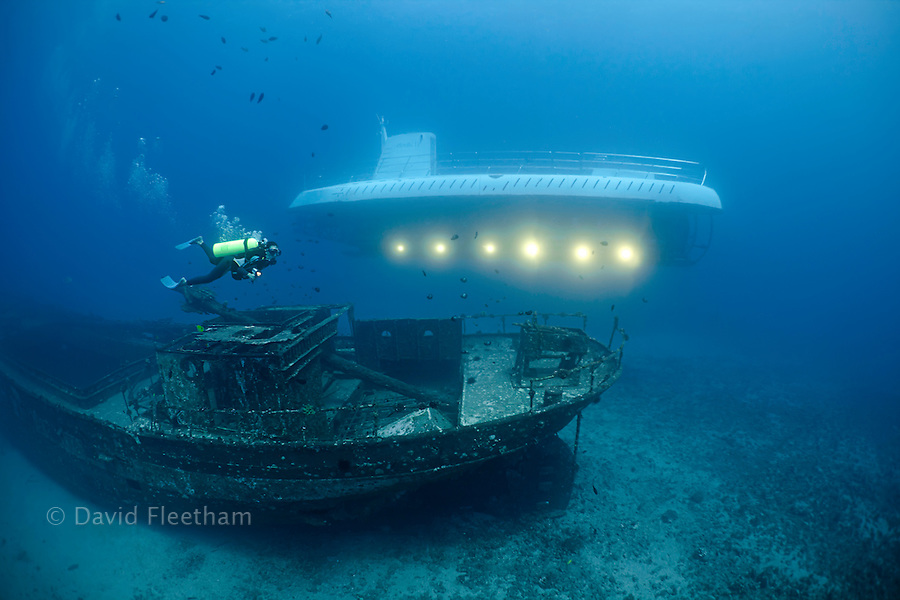 The Carthaginian, a Lahaina landmark, was sunk as an artifical reef off Lahaina, Maui, Hawaii in December 2005. The Atlantis submarine visits the wreck several times every day.