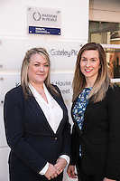 Pictured at Gateley Leicester are newlly-promoted solicitors Claire Herbert (left) and Natalie Howes