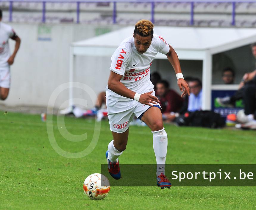KV Kortrijk :  Jimmy Kamghain.foto VDB / BART VANDENBROUCKE