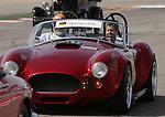 Formula 1 United States Grand Prix 2014, 31.10.-02.11.14<br /> Fahrerparade/Drivers Parade:<br /> Sebastian Vettel (GER#1), Infiniti Red Bull Racing am Steuer einer Cobra<br /> Foto &copy; nordphoto /  Bratic