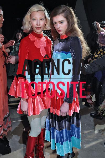 Milao, Italia &ndash; 02/2014 - Desfile de Meadham Kirchhoff durante a Semana de moda de Milao - Inverno 2014. <br /> Foto: FOTOSITE