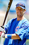 2 July 2005: Nomar Garciaparra, infielder for the Chicago Cubs, takes some batting practice prior to a game against the Washington Nationals. The Nationals defeated the Cubs 4-2 in front of 40,488 at Wrigley Field in Chicago, IL. Mandatory Photo Credit: Ed Wolfstein