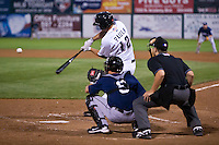August 7,2010 Mike Paulk (12) in action during the MiLB game between the New Orleans Zephyrs and the Colorado Springs Sky Sox at Security Service Field in Colorado Springs Colorado.
