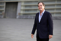 "North American director Oliver Stone posses in the photocall of the ""Untold History of the United States"" documentary film presentation during the 61 San Sebastian Film Festival, in San Sebastian, Spain. September 24, 2013. (ALTERPHOTOS/Victor Blanco) /NortePhoto"