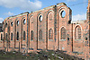 Great Northern Warehouse; a derelict listed building in the city of Nottingham; part of Island Street redevelopment site,