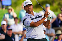 Hideki Matsuyama (JPN) during Round 1 of the Players Championship, TPC Sawgrass, Ponte Vedra Beach, Florida, USA. 12/03/2020<br /> Picture: Golffile   Fran Caffrey<br /> <br /> <br /> All photo usage must carry mandatory copyright credit (© Golffile   Fran Caffrey)