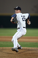 March 13, 2010:  Pitcher Pat Ludwig of the Yale Bulldogs vs. the Akron Zips in a game at Henley Field in Lakeland, FL.  Photo By Mike Janes/Four Seam Images