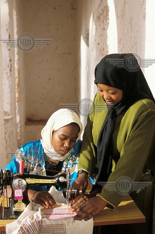 Centre where women are trained in income generation skills.