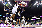 COLUMBUS, OH - APRIL 1: Jordan Danberry #24 of the Mississippi State Bulldogs saves the ball from going out against Notre Dame during the championship game of the 2018 NCAA Division I Women's Basketball Final Four at Nationwide Arena in Columbus, Ohio. (Photo by Justin Tafoya/NCAA Photos via Getty Images)