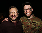 Joe DiPietro and Matt Gould attends The Dramatists Guild Foundation Salon with Matt Gould on March 12, 2018 at StellarTower in New York City.