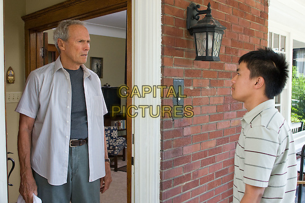 CLINT EASTWOOD & BEE VANG.in Gran Torino.*Filmstill - Editorial Use Only*.CAP/FB.Supplied by Capital Pictures.