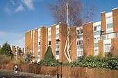 Lanfranc Estate, one of the Parkside group of estates in Tower Hamlets, East London, where tenant campaigners won an injunction in February 2007 preventing the council completing the sell-off of more than 2000 council homes to a subsidiary of housing group Circle Anglia.